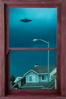 Ufo Window Poster - 24x36 Aliens 10740