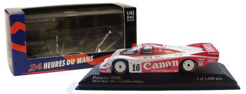 Minichamps Porsche 956L Le Mans 1984 - 1 43 Scale