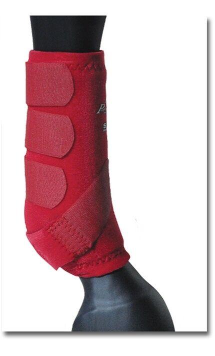 Professional's Choice SMBII Boots CRIMSON RED Medium M Prof Pro Sport Medicine
