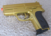 Cool Compact Airsoft Spring Pistol 618 Gold Color