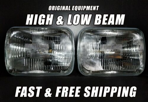 OE Front Halogen Headlight Bulb For Chevy Express 2500 1996-2018 Low /& High x2