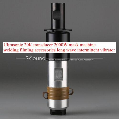 Ultrasonic 20K transducer 2000W mask machine long wave intermittent vibrator
