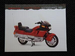 1990-Hondaline-Pacific-Coast-Moto-Accesorios-Folleto-Muy-Buenas-Forma
