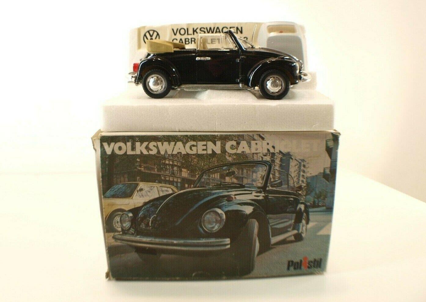 Polistil S15 Volkswagen cabriolet 1303 1/25 neuf en boite/boxed Mint in box