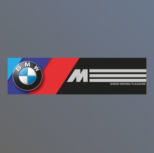 M3 X5 M5 530d Z4 BMW M power Motorsport workshop garage PVC banner sign e30