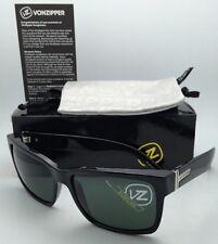 fbc8034a85 Authentic VONZIPPER Sunglasses VZ ELMORE Shiny Black frame w Vintage Grey  lenses