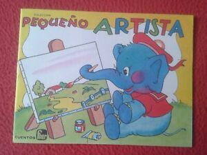 CUENTO-PARA-COLOREAR-COLECCIoN-PEQUENO-ARTISTA-DE-CUENTOS-FHER-IMPRESO-EN-1974