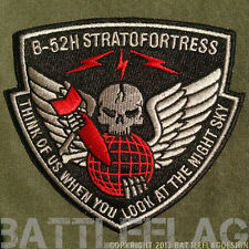 B-52H Stratofortress Night Sky Patch, Desert Storm Inspired, Barksdale AFB USAFR