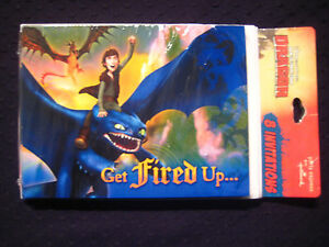 Hallmark Party Express How To Train Your Dragon Invitations