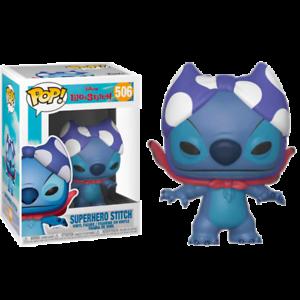 Superhero-Stitch-Lilo-amp-Stitch-Funko-Pop-Vinyl-New-in-Box