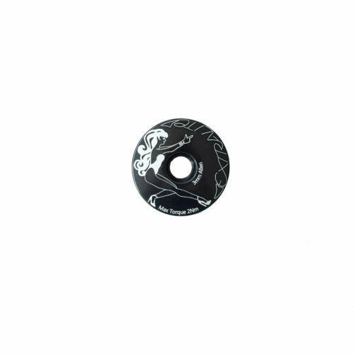 Extralite Hypercap Top Cap /& Bolt Black