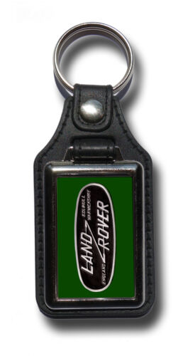 LANDROVER FAUX LEATHER KEY RING KEY FOB.CLASSIC LANDROVER SERIES I /& II.