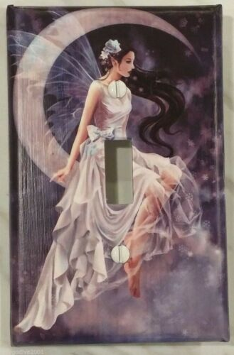 New Moon Princess Fairy-Light Switch Cover-FREE Shipping /'New!/' LARGER SIZE