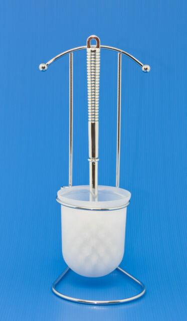 Colore Schramm/® Set di 6 spazzolini di Ricambio per WC Nero