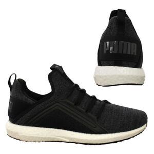 Mege Knit D18 Noir Sur 01 Lacets Puma Slip Hommes Baskets Nrgy 190371 7qan6dU