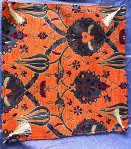 "Turkish Anatolian Ottoman Jacquard Pillow Cover Double Side Zippered 27/""x27/"",M11"