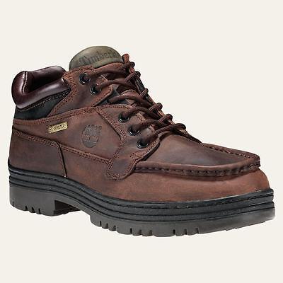 TIMBERLAND Men's 'CLASSIC TREKKER' 37042 Brown WATERPROOF BOOTS - 9