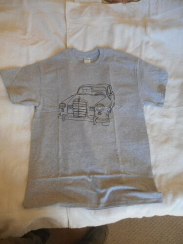 Mercedes Benz Ponton T Shirt Men/'s Tee Printed Front /& Back Sport Gildan 5400