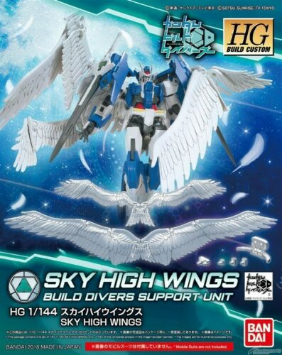 HGBC 1//144 Skyhigh Wings Bandai Gundam