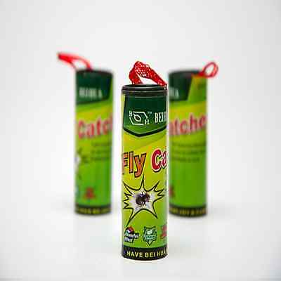 4 Fly Sticky Paper Strip Mosquito Catcher Flying Insect Flying Catcher