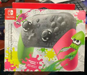 Nintendo-Splatoon-2-Edition-HACAFSSKB-Gamepad-OPEN-BOX-NEW-CONDITION