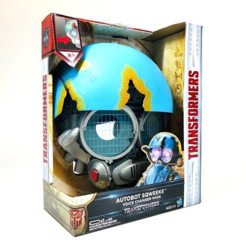 Transformers le dernier chevalier Voice Changer Masques Bumblebee//AUTOBOT Noël Gif