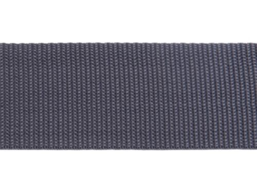 Bänder 40mm breit DUNKELGRAU 10m lang Dicke 1,3 mm Gurtband