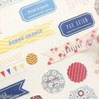 Petit Decor Sticker Ver.2 Diary Planner Scrapbook Masking Index Washi Cute Tape