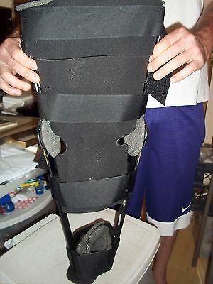 Bledsoe Extender 33 Knee Leg Brace Ortho Support Post Op