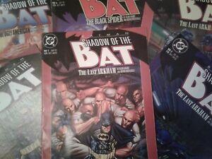 DC-COMICS-BATMAN-SHADOW-OF-THE-BAT-1992-VARIOUS-ISSUES