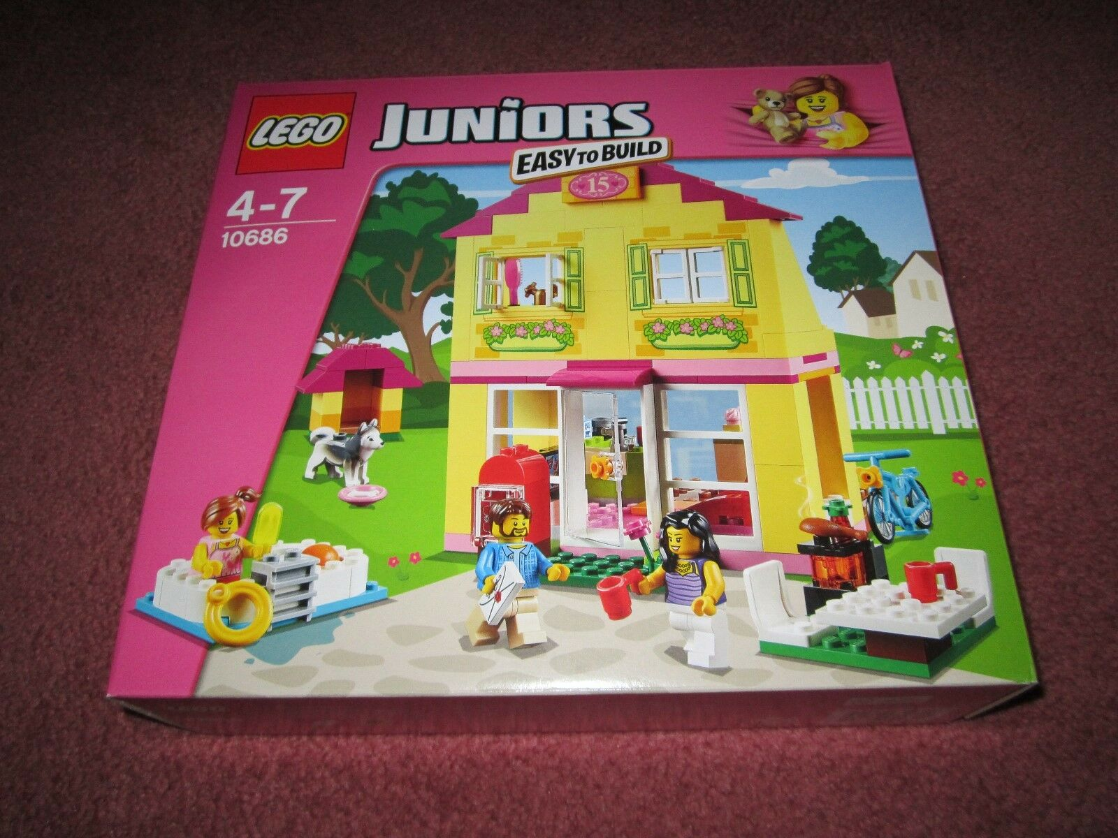 LEGO Juniors FAMILY HOUSE 10686-NUOVO/boxed/SIGILLATO