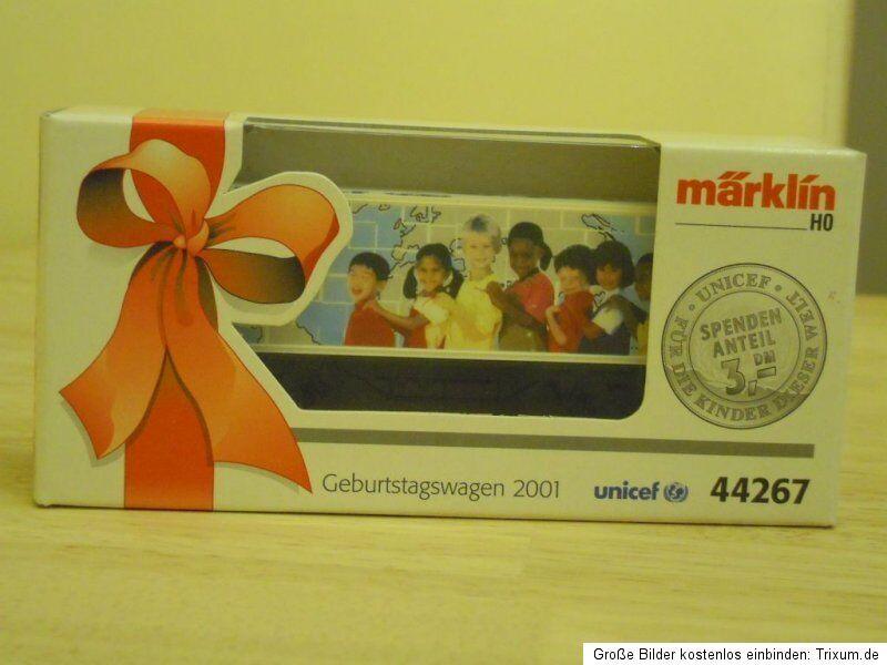 Märklin 44267 Birthday Dare 2001 UNICEF   SOS Kinderdorf   LIKE  Original