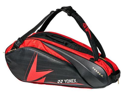 YONEX Lin Dan Badminton Bag Tennis 2 Pack Rucksack Black Red Racquet BAG42LDEX