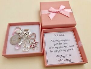 Image Is Loading LUCKY SIXPENCE 21ST BIRTHDAY GIFT DRAGONFLY CHARM IN