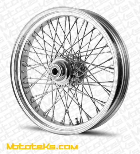 18X3.5 60 SPOKE FRONT WHEEL FOR HARLEY SOFTAIL FATBOY DELUXE HERITAGE 1984-1999