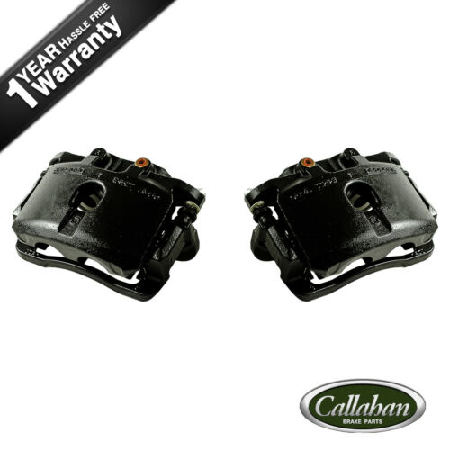 Rear Black Brake Calipers For 2003 2004 2005 2006 CHEVROLET TAHOE SUBURBAN 1500