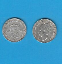 § PAYS-BAS NETHERLANDS 0,50 Gulden  1930  Silver Coin