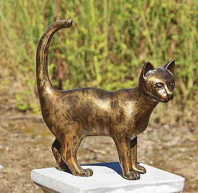 Klangspiel Windspiel Katze Fengshui Dekokatze Holzkatze Katzenklangspiel Katzen