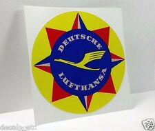 Deutsche Lufthansa Vintage Style Travel Decal, Vinyl Sticker, Luggage Label