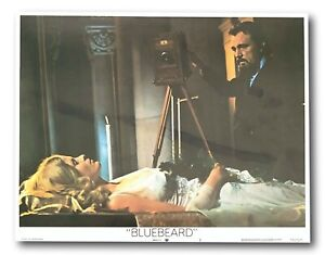 """BARBABLU"" ORIGINALE 11x14 Autentico LOBBY CARD 1972 POSTER #3 Burton WELCH"