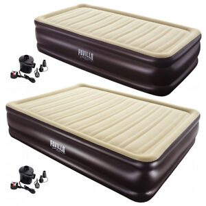 Bestway-Pavillo-Inflatable-Queen-Twin-Air-bed-Camping-Gear-Electric-Air-Pump