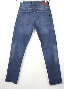 GANT-Hommes-Tyler-Droit-Jambe-Coupe-Standard-Slim-Jean-Taille-W34-L34-AVZ1143