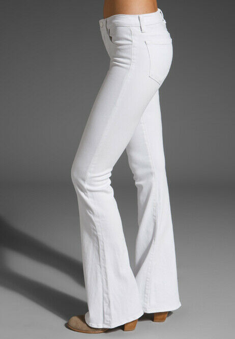J BRAND Womens 818O222 Trousers Relaxed Snow White Size 26