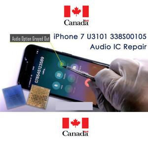 Canada Vancouver iPhone 7 Plus Audio IC No Mic Speaker Slow Boot Repair Service