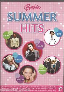 Barbie-Summer-Hits-New-DVD-Region-4-Unsealed-Guy-Sebastian-Will-Smith-Tiga