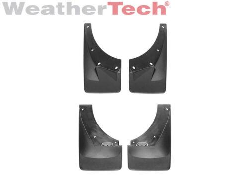 2007-2014 Front//Rear Set WeatherTech No-Drill MudFlaps for Suburban//Yukon XL