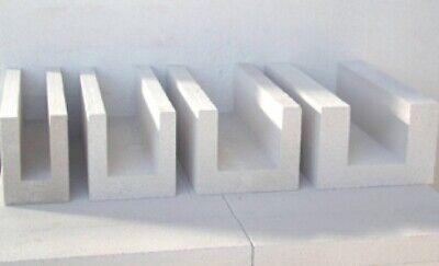 2 Paletten Porenbeton U-schalen 36,5x25x50cm Frachtfrei Weniger Teuer 30 Lfm
