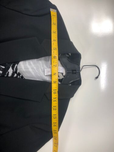 Button Size giacca da Chicos One Stretch donna Blazer ufficio Cargo Black 1 da BZUHw0