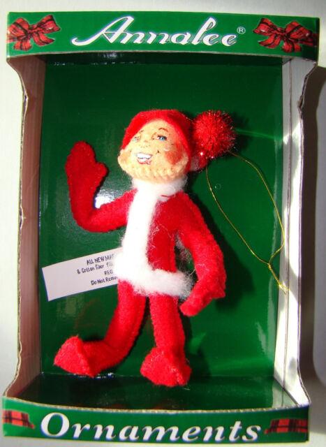 NIB 2004 Annalee Christmas Doll Ornament - 4