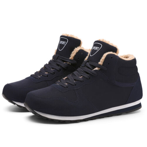 Men/'s Women/'s Snow Boots Winter Sneakers Warm Shoes Fur Lined Sneaker Boots
